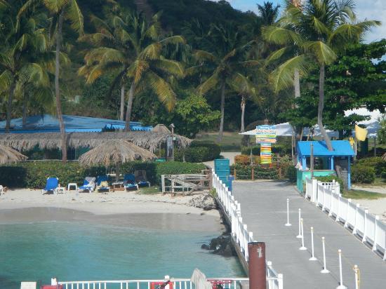 Las Casitas Village, A Waldorf Astoria Resort: Ramp to Island