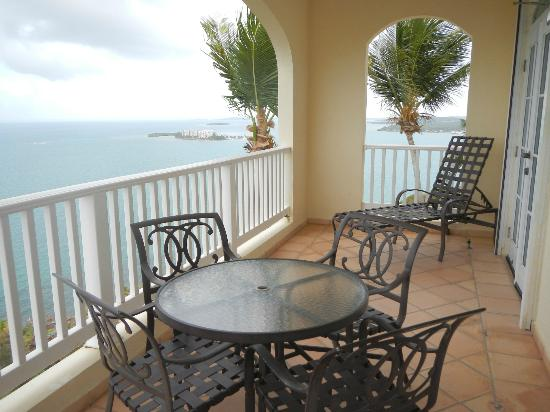 Las Casitas Village, A Waldorf Astoria Resort: Villa Balcony