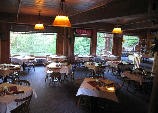 Chateau Dining Room Picture Of Chateau At Oregon Caves Dining Room Cave Junction Tripadvisor