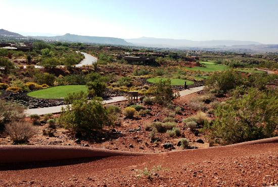 The Inn at Entrada : A golf hole