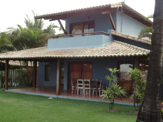 Mar Paraiso Hotel: Casa com 3 quartos, 2 banheiros, cozinha, 2 varandas, sala ampla