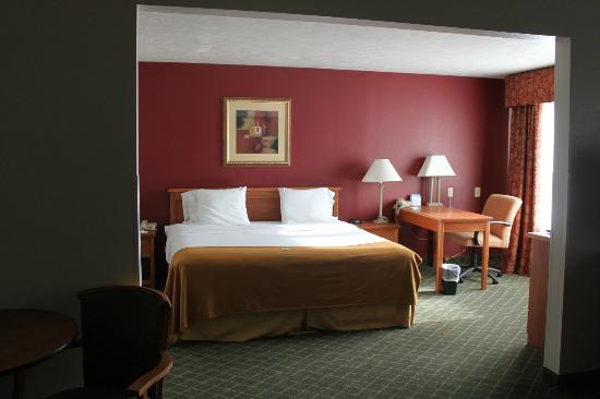 Holiday Inn Express & Suites Omaha West: Sleeping area
