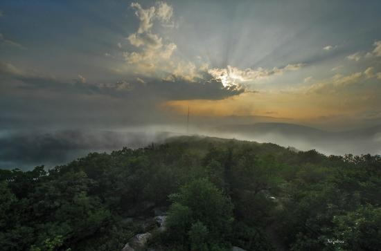Overlook Mountain: the view from above