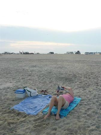 Assateague Beach: Hanging out on the beach