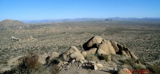 McDowell Sonoran Preserve: View from trail