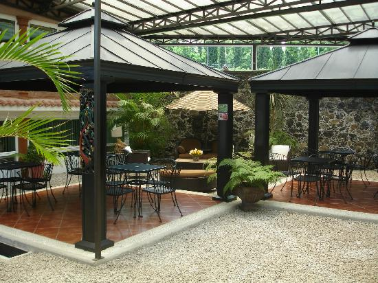Nuevo Amanecer Resort & Spa: Kioskos ¡Un buen lugar para desayunar en familia!