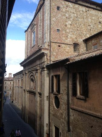 Albergo Duomo: The view outside room 108