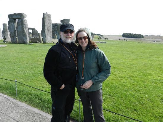 The English Bus: At Stonehenge