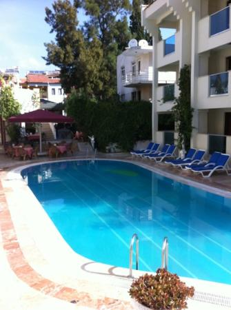 Club Evin Marmaris: Poolside