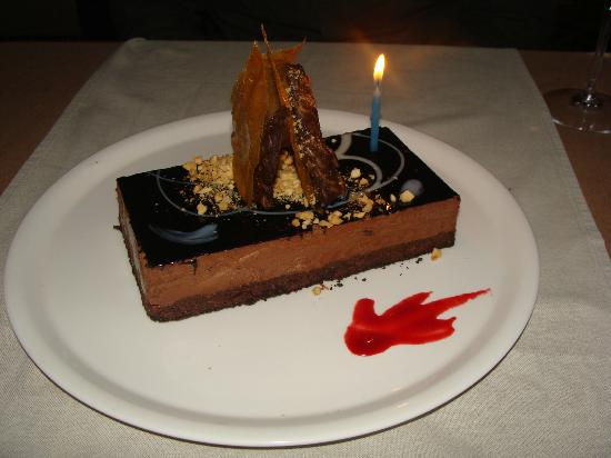 Pepe Nero: Complimentary B'day Cake