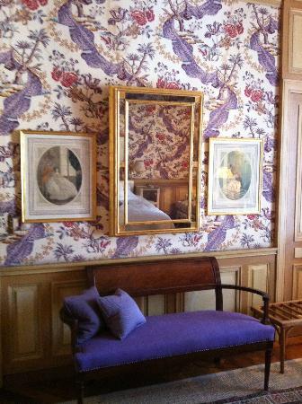 La Mirande Hotel: Bedroom details