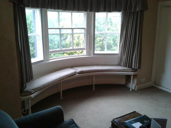 Donington Manor Hotel: Bay Window Seat In Our Suite
