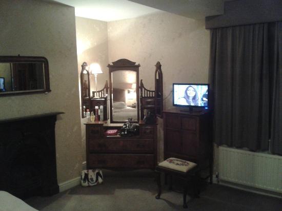 Donington Manor Hotel: Bedroom