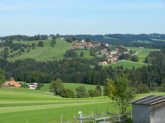 Pure Bavaria Tours: View from lunch at farm