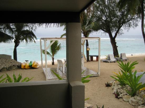 Crown Beach Resort & Spa: View from our beachfront villa