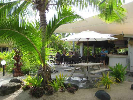 Crown Beach Resort & Spa: Oceans Restaurant (where we had breakfast each day)