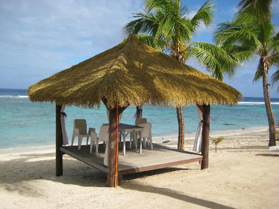 Crown Beach Resort & Spa: Gazebo on the beach