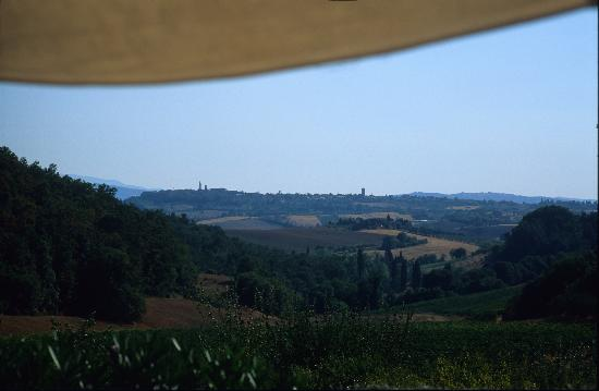 Tenuta Santo Pietro: another view from the hotel