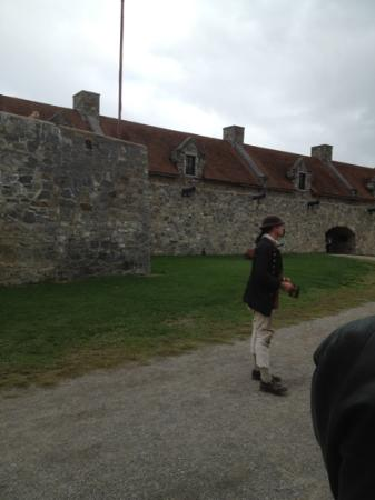 Fort Ticonderoga: our tour guide
