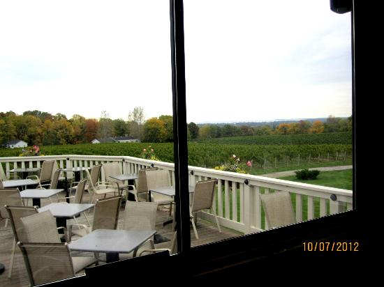 Vineland Estates Winery Restaurant: Veranda