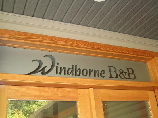 Windborne Bed and Breakfast: Welcome!