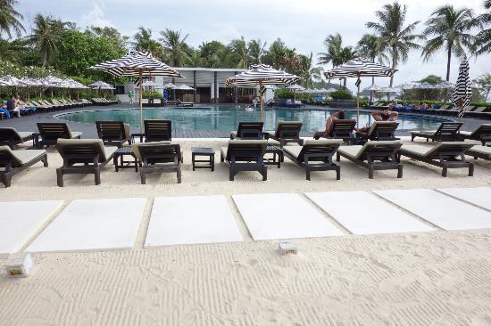 Hilton Phuket Arcadia Resort & Spa: 3つあるプールの中で一番ビーチより