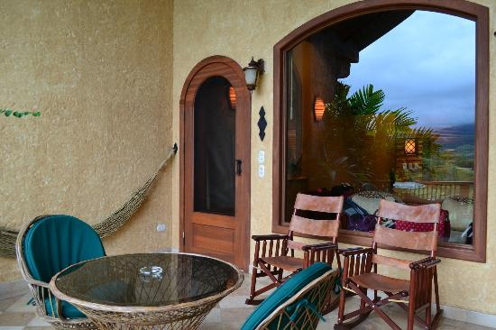 The Springs Resort and Spa : our porch