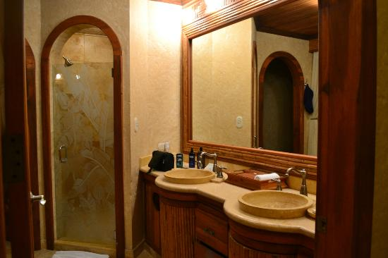 The Springs Resort and Spa: well lit sink and vanity