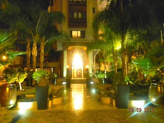 Hivernage Hotel & Spa: entrata