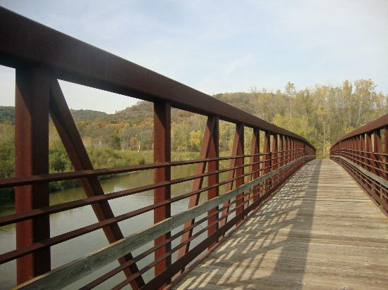 Root River Bike Trail Bridge