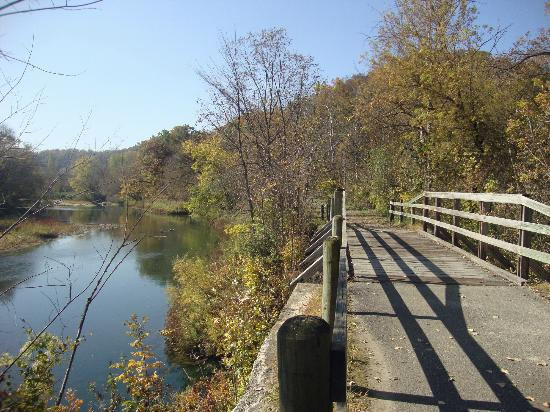 Root River Trail With Bridge