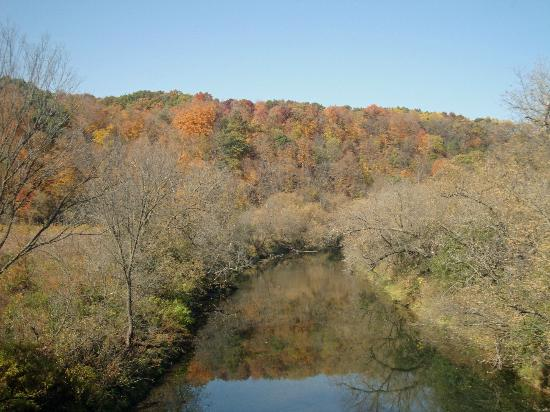 Scenic fall colors near the Root River