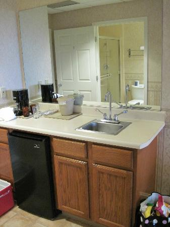 Bayview Motel: Wet bar was great; a real bonus