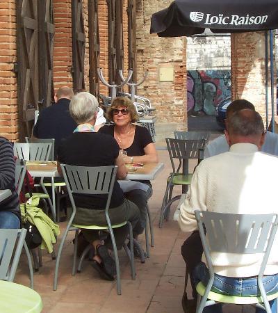 La Tour des Moines : outdoor dining