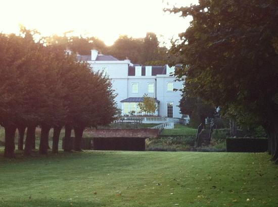 Coworth Park - Dorchester Collection: View of the Manor House from the polo fields