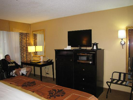 La Quinta Inn & Suites Lafayette: Flat screen TV
