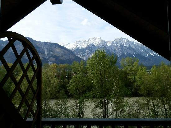 Gasthof Badl: View from our lovely room.