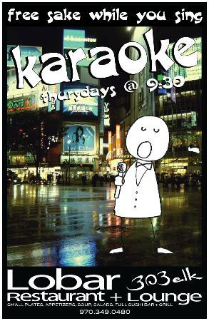 The Lobar Restaurant and Lounge : Karaoke