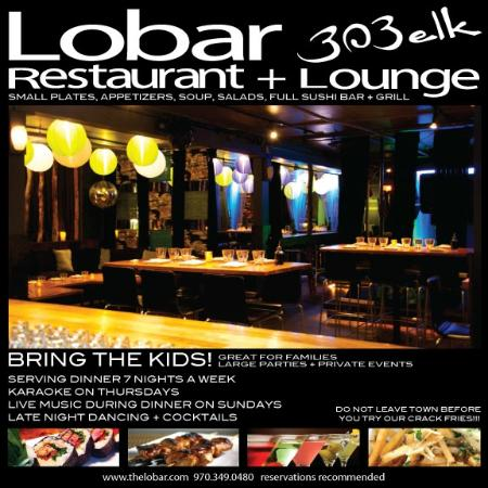 The Lobar Restaurant and Lounge : The Lobar Restaurant