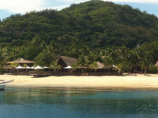 Castaway Island Fiji: Castaway island from the South Sea Cruise Transfer
