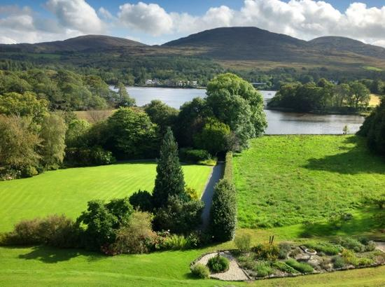 Park Hotel Kenmare: the view from our room.