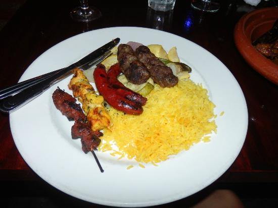 Falafel Moroccan Restaurant: Mixed Kebab