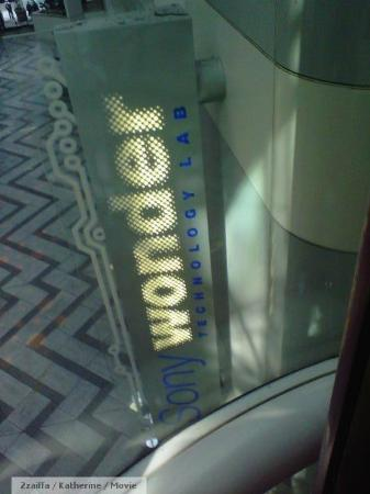 Sony Wonder Technology Lab : A view from the glass elevator