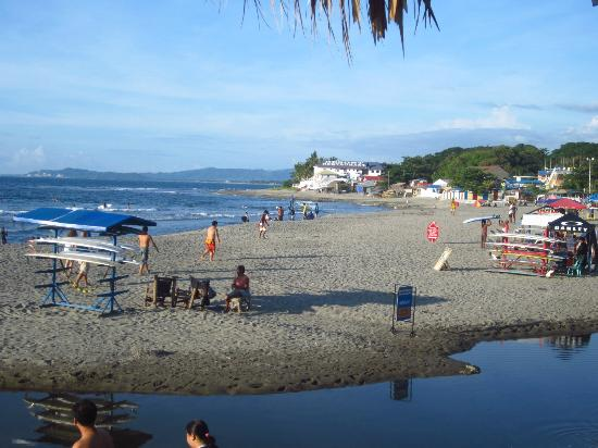 Costa Villa Beach Resort: surf