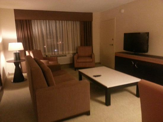 Crowne Plaza Wilmington North: Living Room
