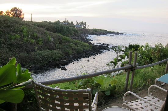 Garden Isle Cottages: Patio view