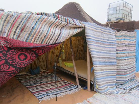 Hotel Kasbah Mohayut: Our Berber tent - but sleep under the stars!