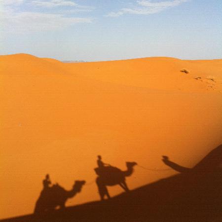 Hotel Kasbah Mohayut: Our desert trek
