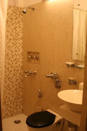 Hotel Ajanta: clean bathroom