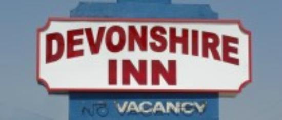 Devonshire Inn: Motel Sinage